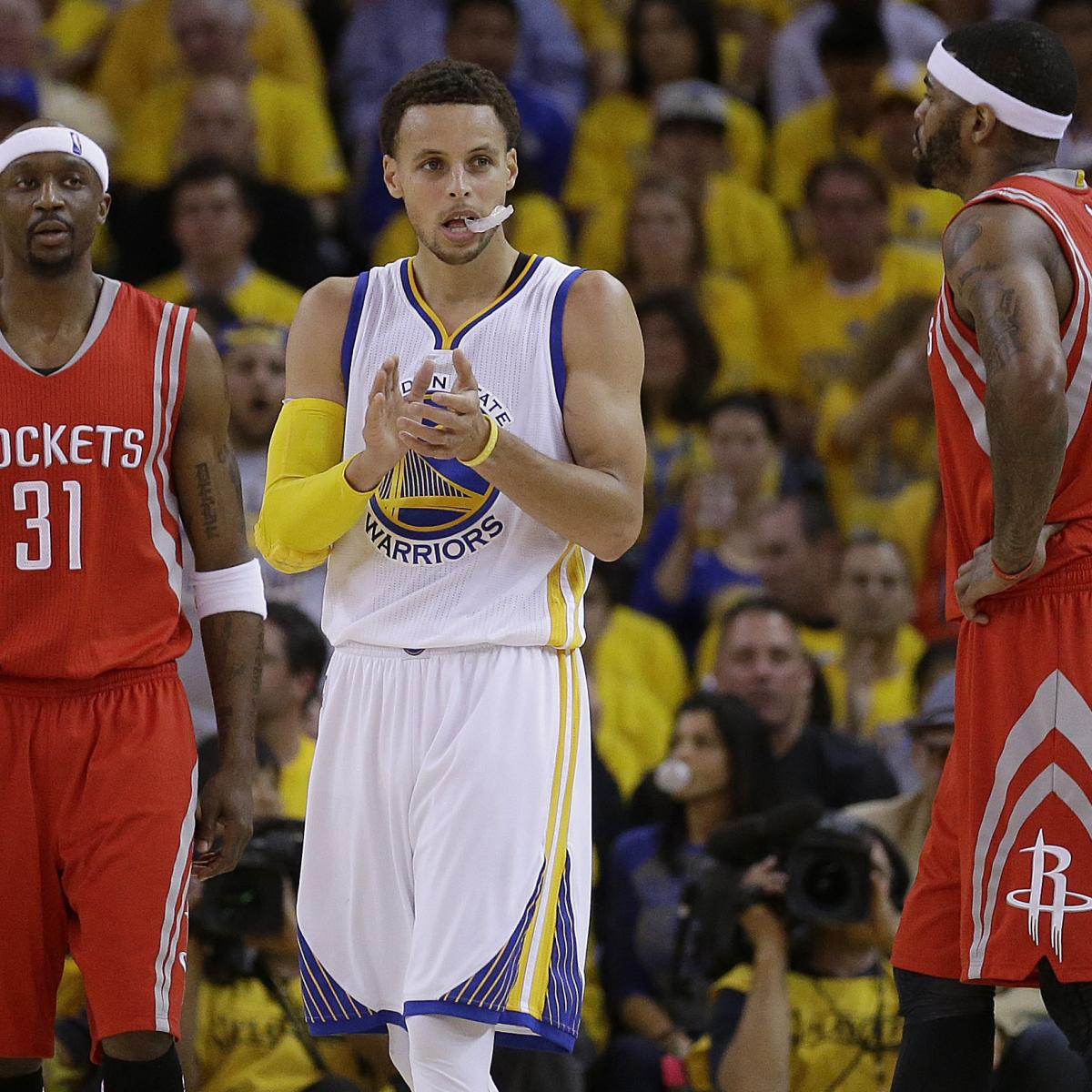 Houston Rockets Vs Golden State Warriors Lineup: NBA Playoffs 2015: TV Schedule And Predictions For