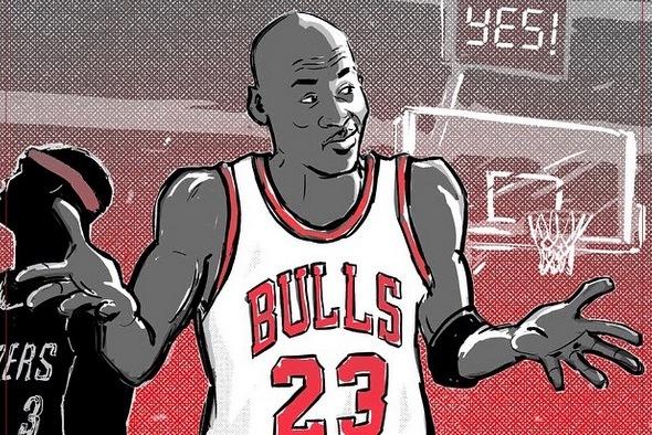 e35f793c83d We Remember  23rd Anniversary of Michael Jordan s Playoff  Shrug Game