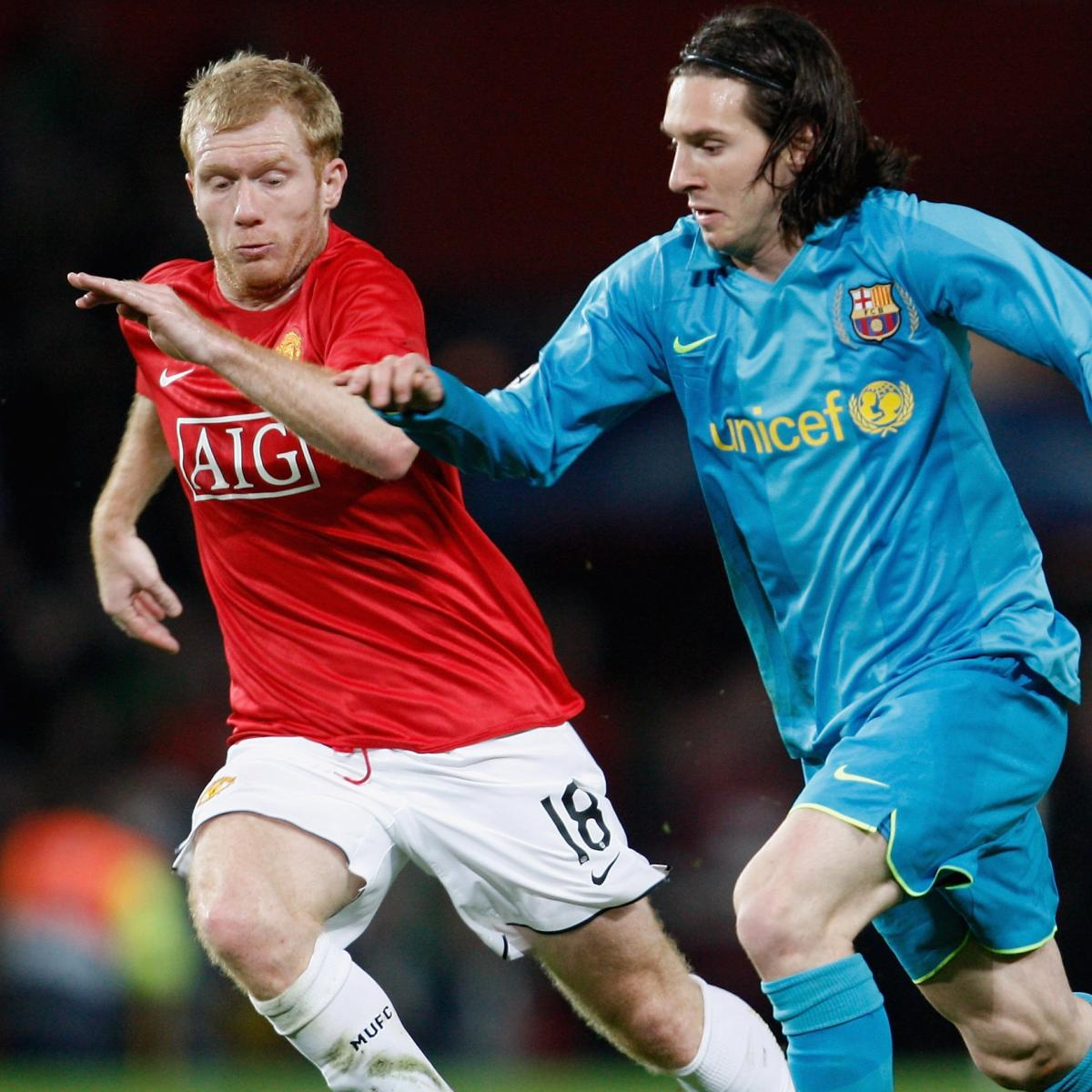 Lionel Messi A Look At The Barcelona Star S Sensational: Paul Scholes Describes Barcelona Star Lionel Messi As 'The