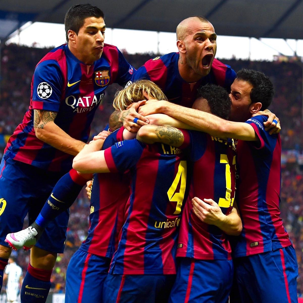 Juventus Vs Barcelona Live Score Highlights From 2015 Champions League Final Bleacher Report Latest News Videos And Highlights