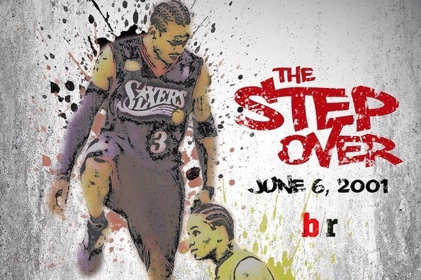 Allen Iverson Step Over Poster
