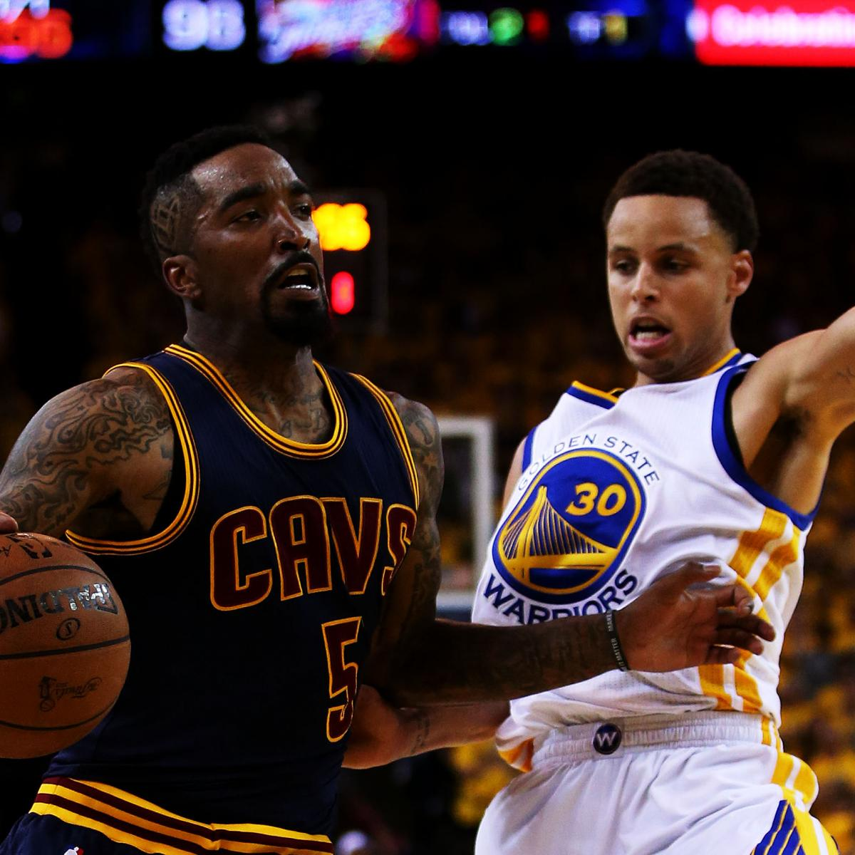 NBA Finals 2015: Cavs Vs. Warriors Game 2 TV Schedule