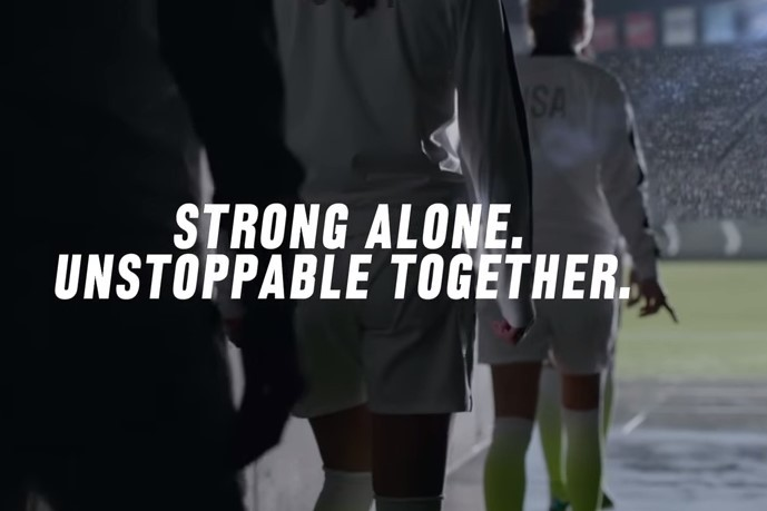 Sportcitaten : Nike soccer releases hype video for team usa in womens world cup