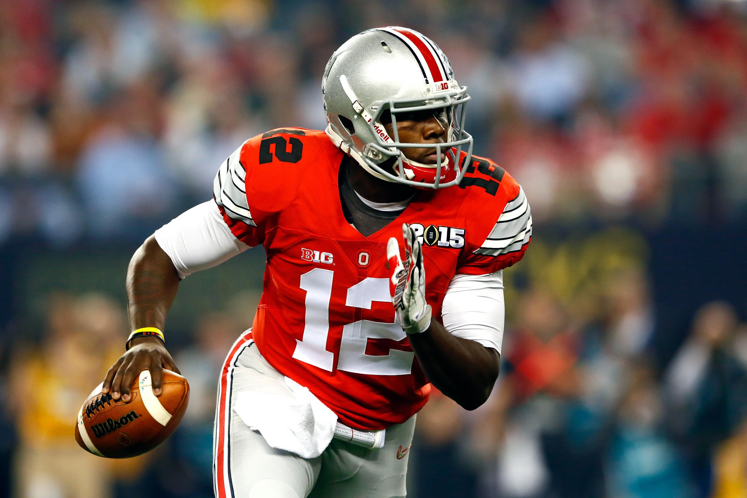 best loved 5bf49 19eb7 Ohio State QB Cardale Jones Says He's Buckeyes' 3rd-Stringer ...