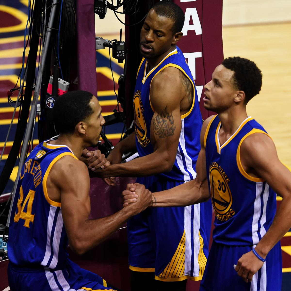 NBA Finals 2015: Cavaliers Vs. Warriors TV Schedule And