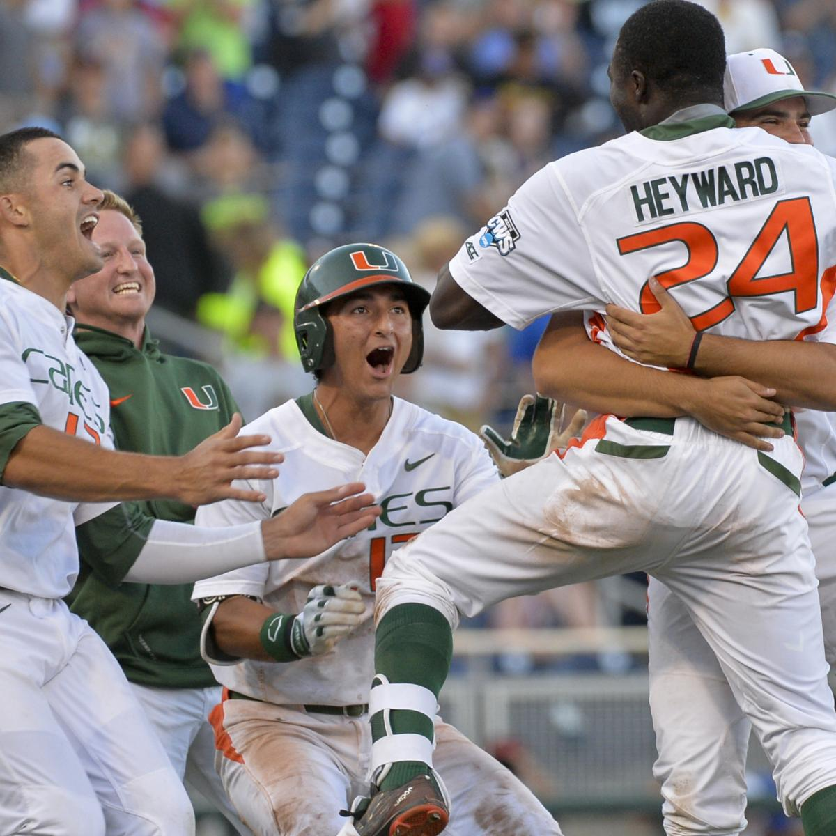 Mike Fiers In World Series: College Baseball World Series 2015: Monday Scores, Winners