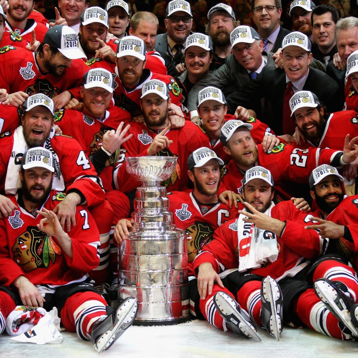 Blackhawks Win Stanley Cup 2015: Score, Celebration