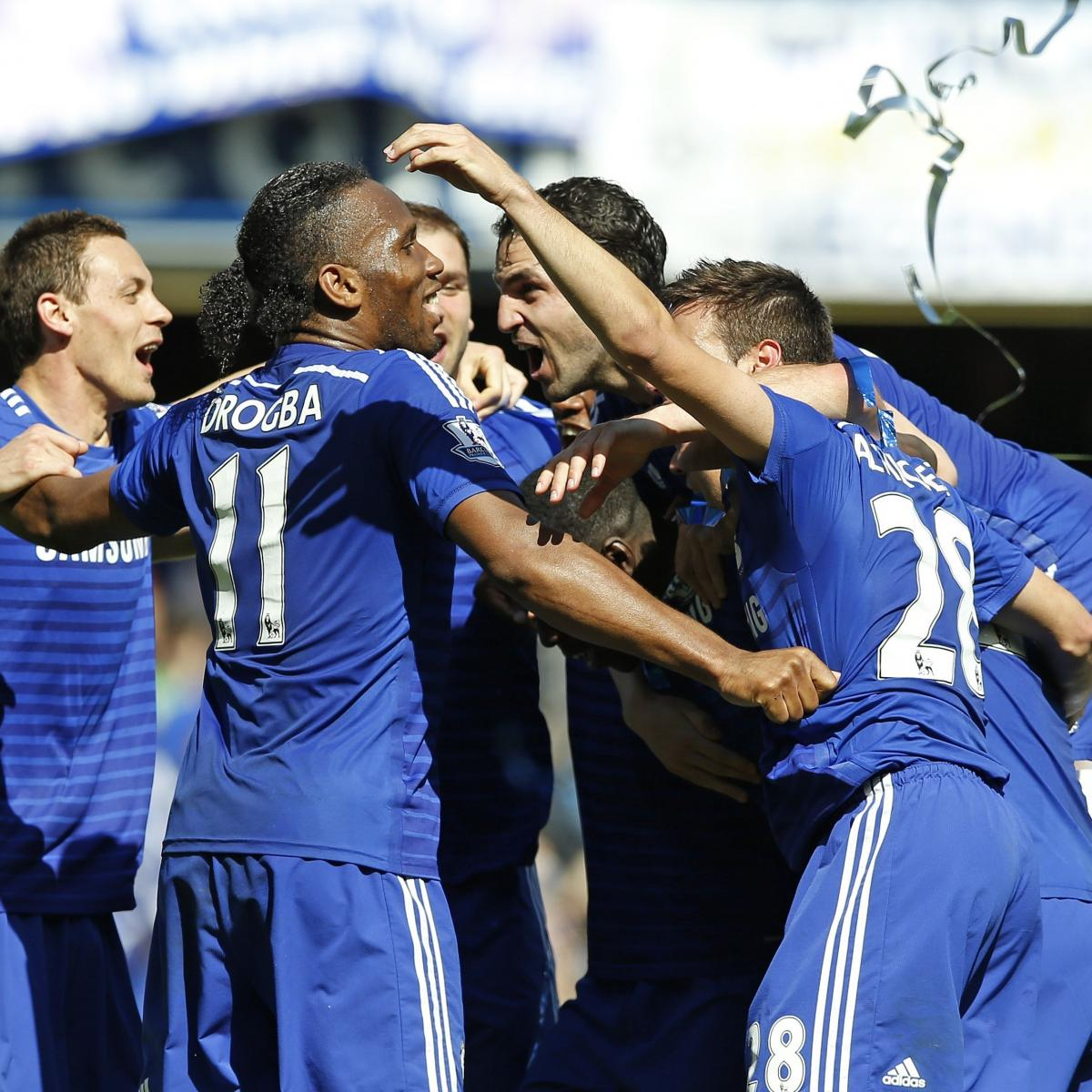 EPL Schedule 2015-16: Official List of Fixtures for New ...