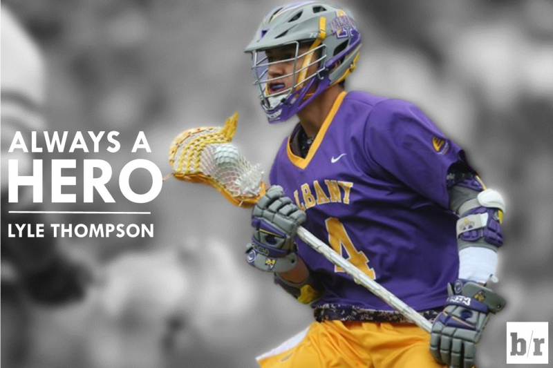 How Albany's Lyle Thompson Became the Face of College Lacrosse