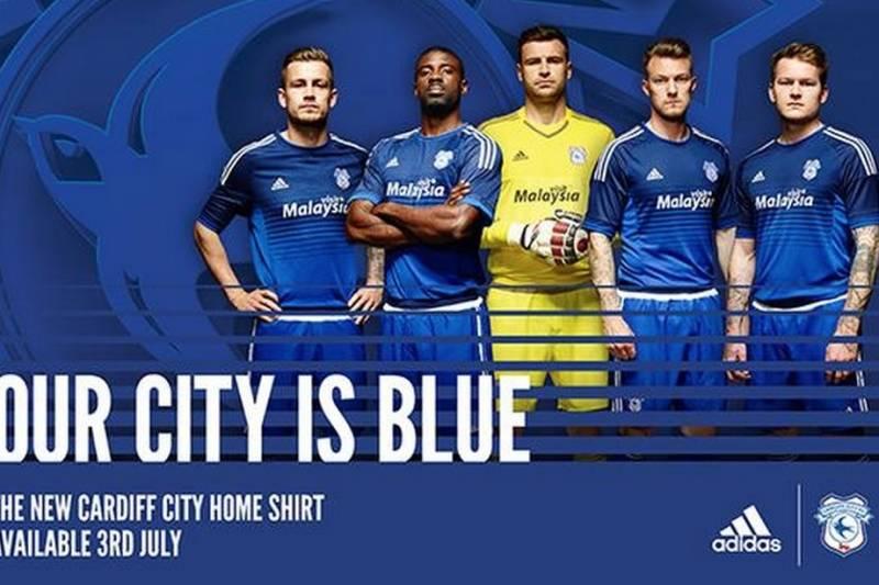 Cardiff City Unveil New Kits Finally Return To Blue Colour Scheme