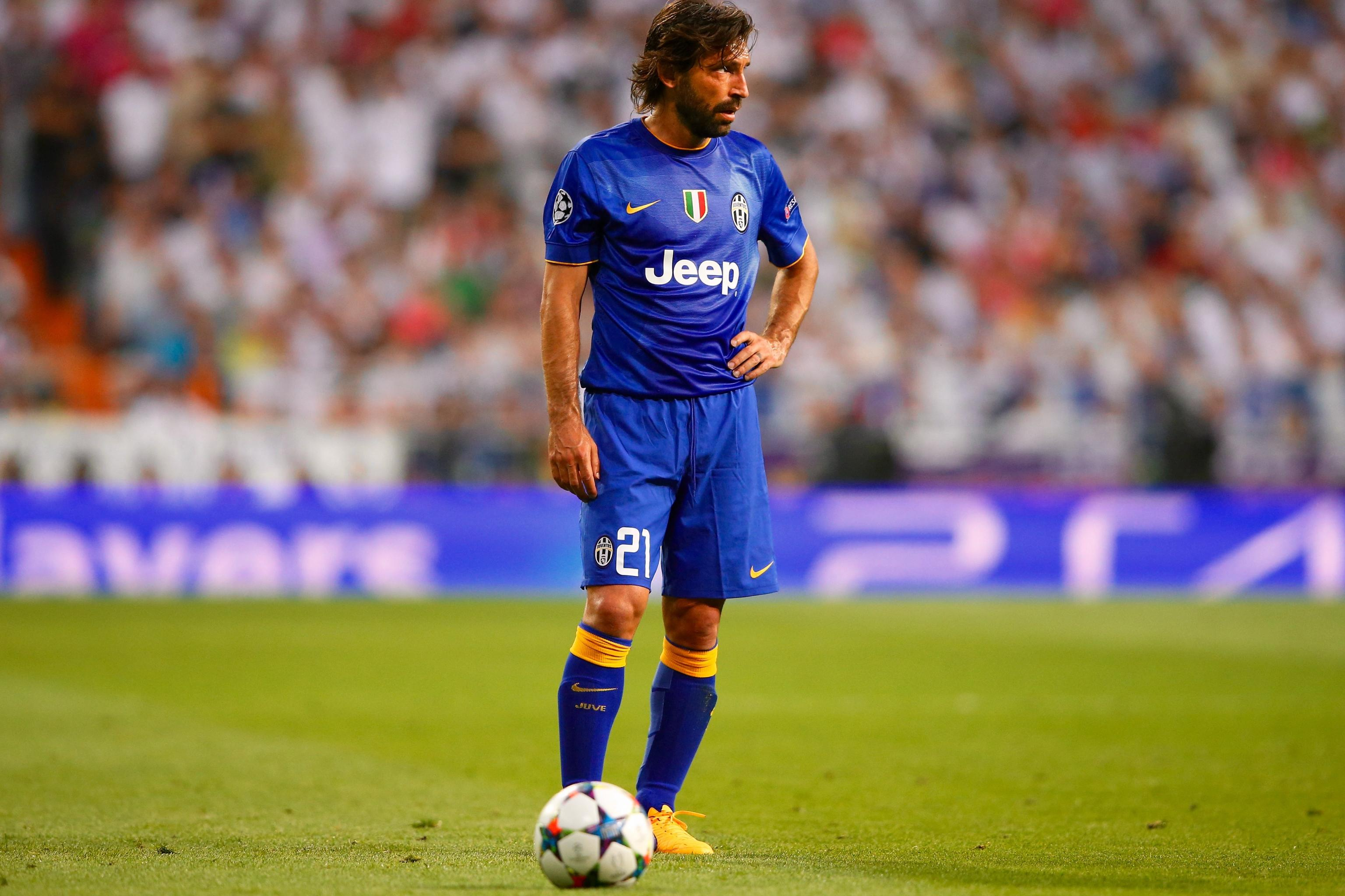 Andrea Pirlo Officially Leaves Juventus For New York City Fc Bleacher Report Latest News Videos And Highlights