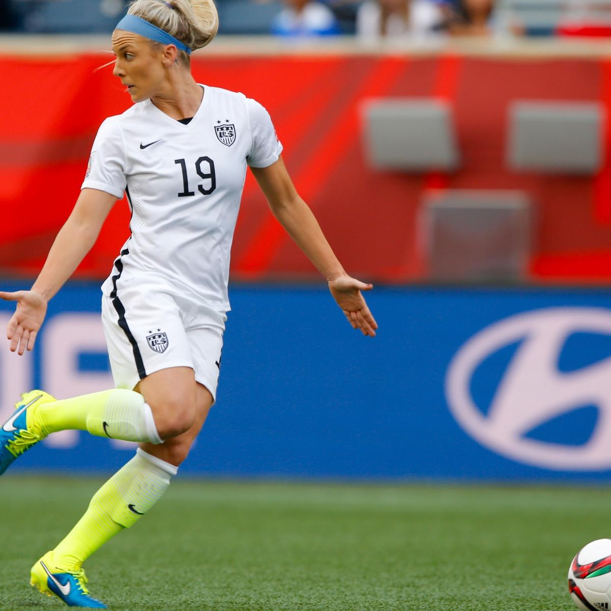 5aa802d8ecd Julie Johnston Is the Rising Star as USWNT Progresses in Women s World Cup