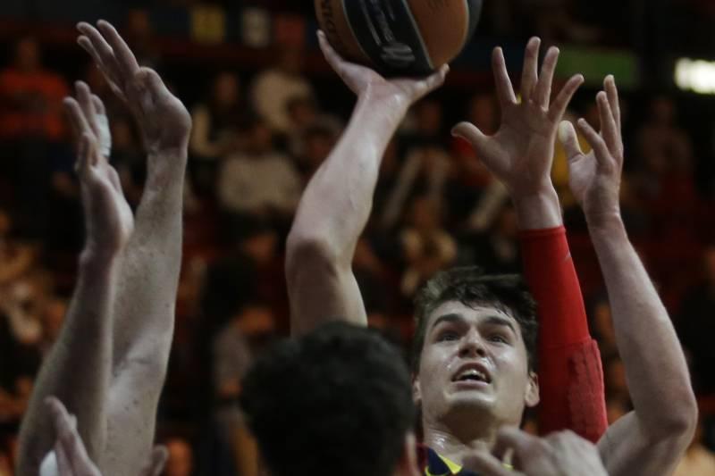 deaf82226e63 Barcelona s Mario Hezonja fires a shot during the Euroleague Final Four  third place match between Barcelona