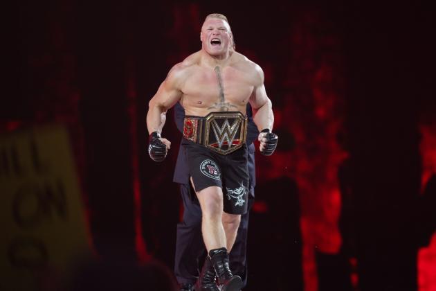 Brock Lesnar Will Spark Change World Title Scene Needs At WWE Battleground 2015