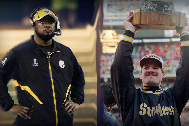 cheap for discount 03846 5a375 Mike Tomlin or Bill Cowher: Who Retires as Greater ...