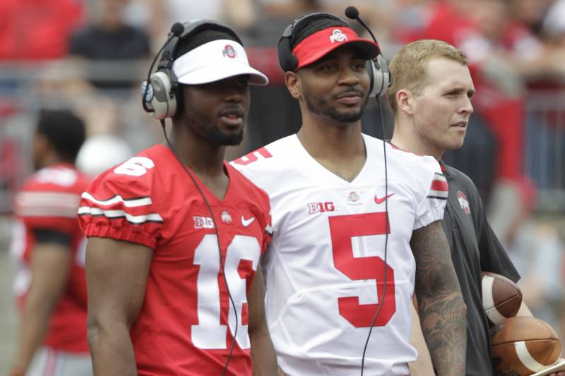 brand new a856f 95eba Braxton Miller Announces Decision to Remain at Ohio State ...