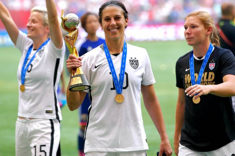 898988d1cd Carli Lloyd's Heroics Lead USWNT to 3rd Women's World Cup Title ...