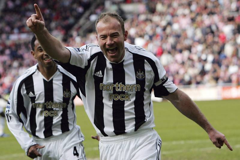 factory price f9f9f 58054 Alan Shearer Nails Pinpoint Strike and Trademark Celebration ...