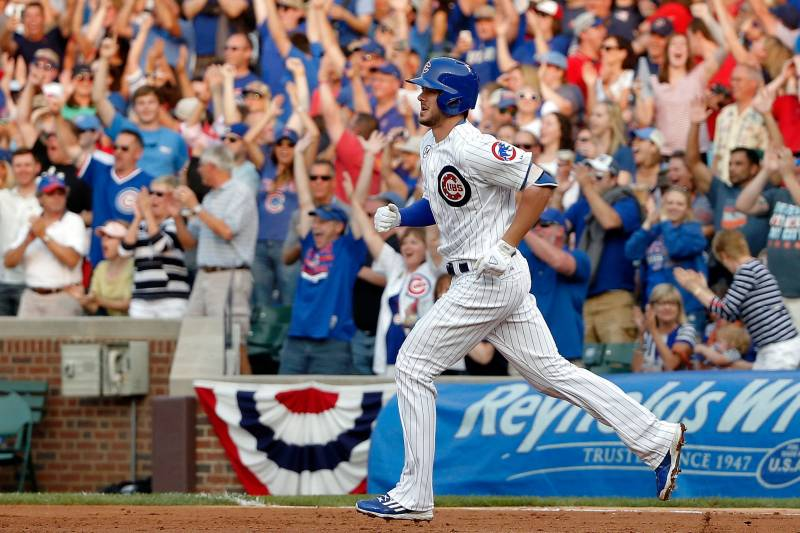 69be1200c5a689 CHICAGO, IL - JULY 04: Kris Bryant. Jon Durr/Getty Images. The participants for  the 2015 MLB Home Run Derby ...