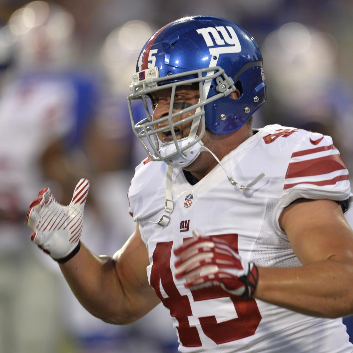 Why FB Henry Hynoski Is Still Critical To The NY Giants