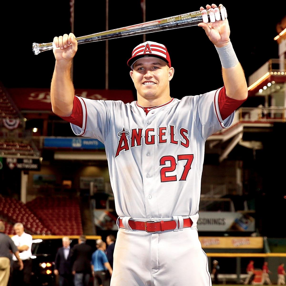Mike Trout's All-Star Legend Explodes With Career Cycle