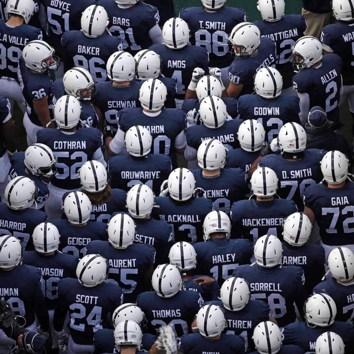 Penn State Football  Nittany Lions to Remove Names from Jerseys ... 8691208af
