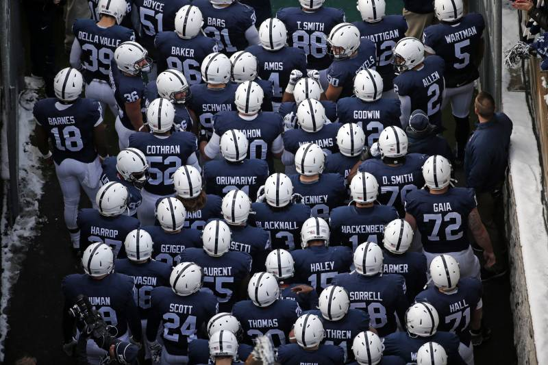 sports shoes 3178f 23d98 Penn State Football: Nittany Lions to Remove Names from ...