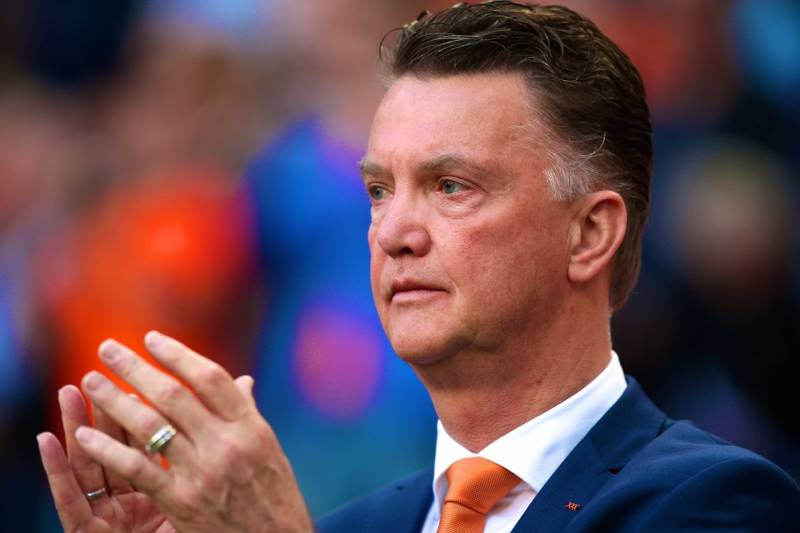 92cb2ebdb Getty Images. Louis van Gaal conducted two Manchester United press  conferences ...