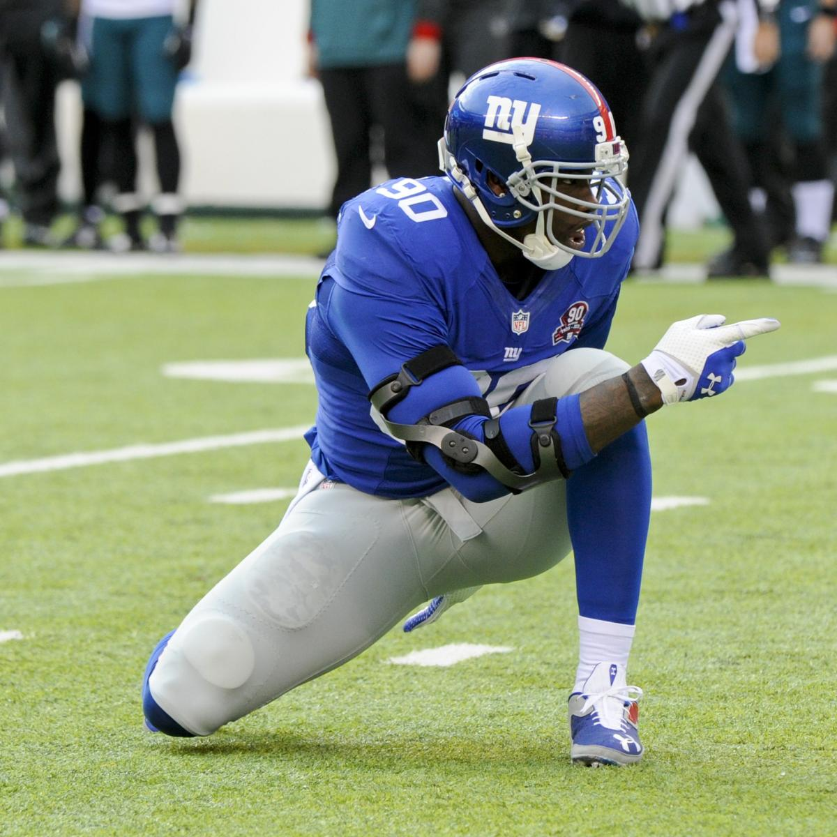 Jason Pierre Paul Giants: Why The NY Giants Should Move On From Jason Pierre-Paul