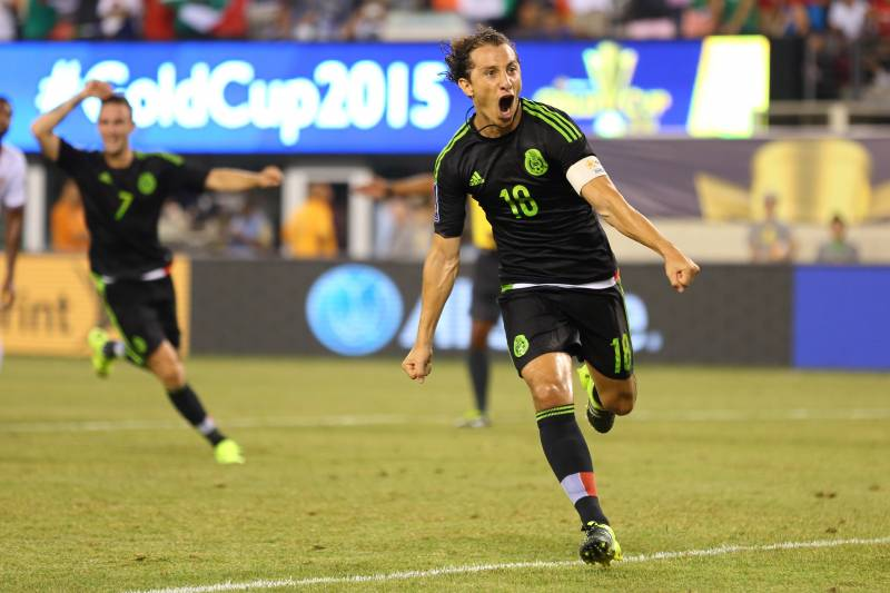 68efee7cb Andres Guardado Shining for Mexico in Captain s Role at Gold Cup ...