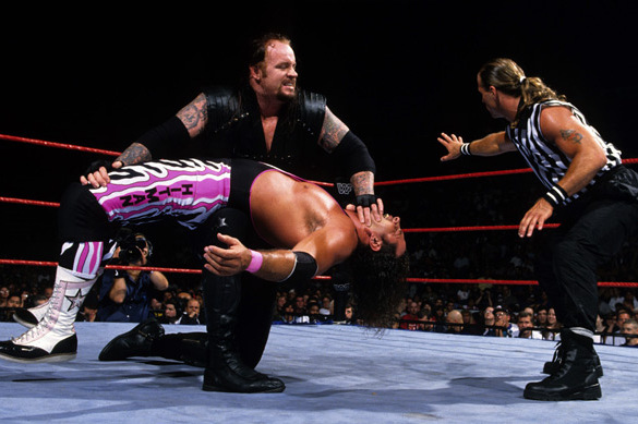 WWE Classic of the Week: The Undertaker vs. Bret Hart from SummerSlam 1997 | Bleacher Report | Latest News, Videos and Highlights
