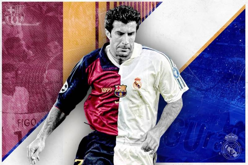separation shoes 8d855 9c57a Luis Figo to Real Madrid: The Transfer That Launched the ...