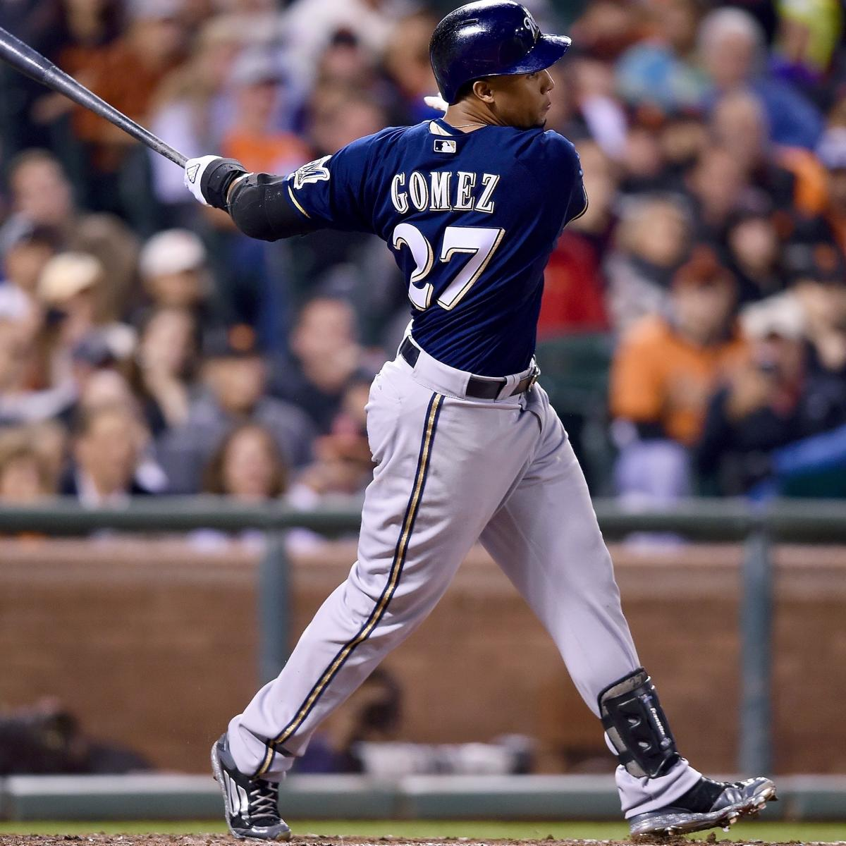 Carlos Gomez, Mike Fiers Traded To Houston Astros
