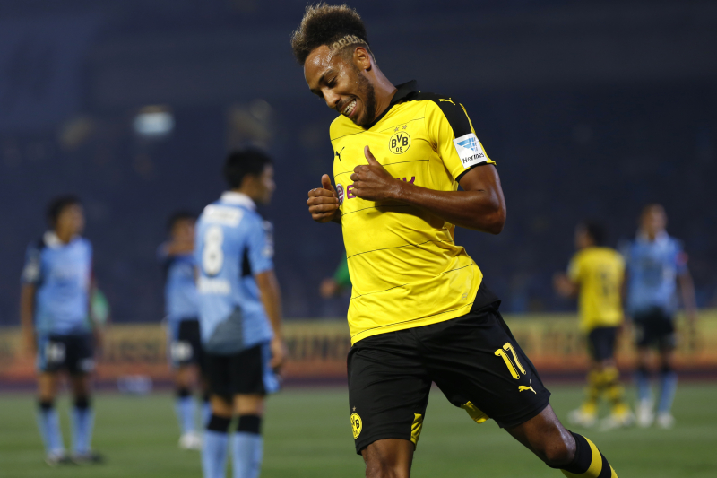 Pierre-Emerick Aubameyang and Borussia Dortmund Agree to New Contract