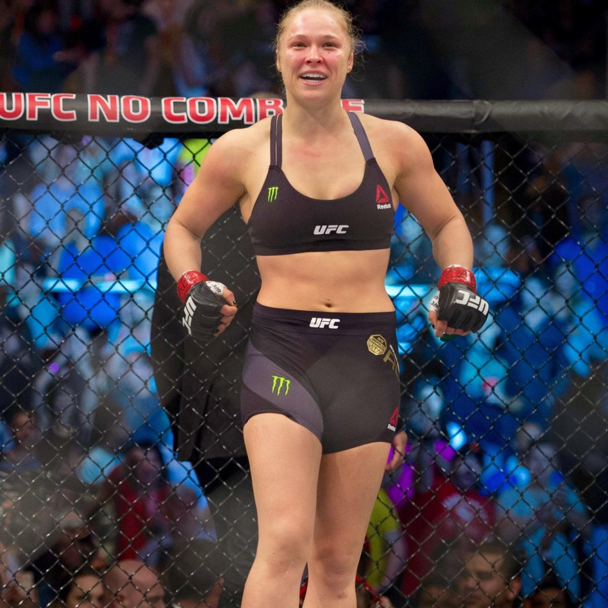 Ronda Rousey to headline first-ever womens main event at
