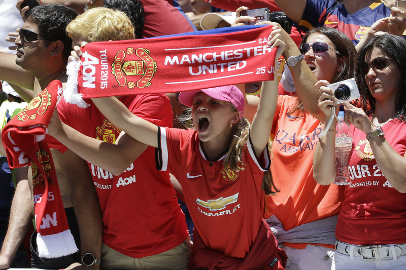Manchester United's Adidas Home Kit Sales Break Megastore Record by 50%