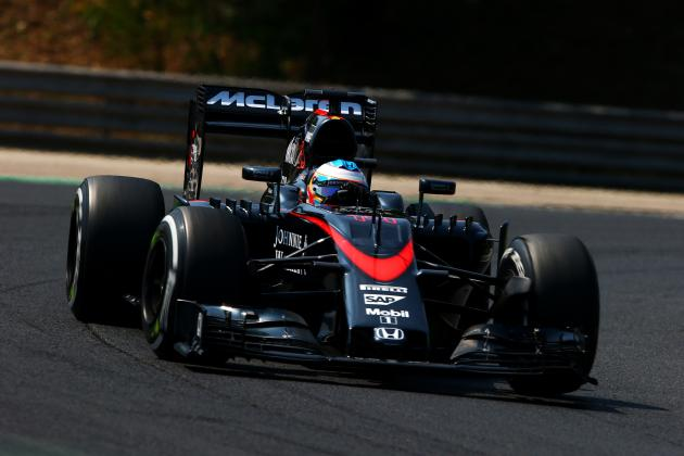 revised expectations for mclaren-honda going into 2nd half of 2015
