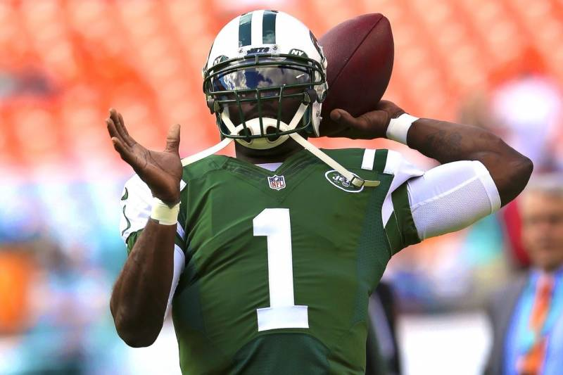 huge selection of b22be b9ba3 Michael Vick Signs with Pittsburgh Steelers | Bleacher ...