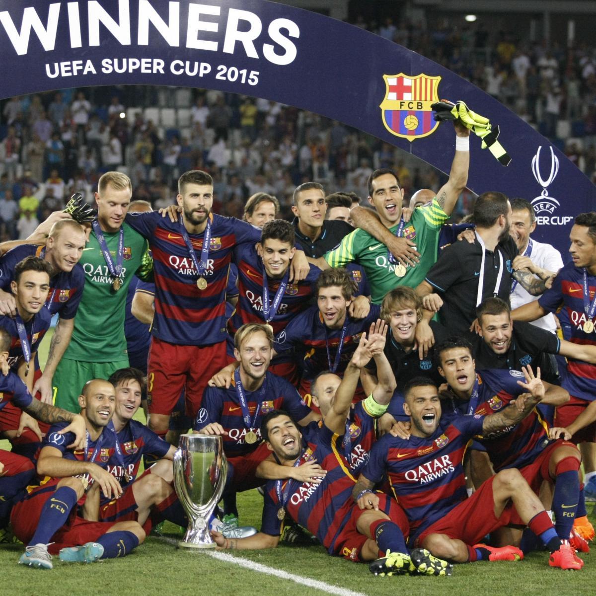 Spanish Super Cup 2015: Athletic Bilbao vs. Barcelona Live ...