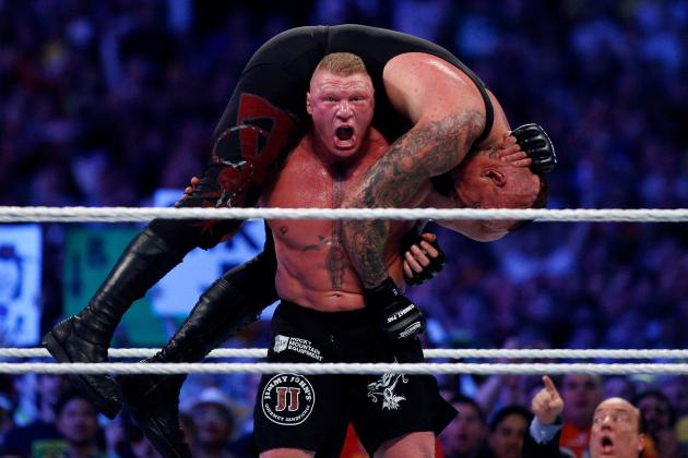Image result for undertaker vs brock lesnar wrestlemania 30