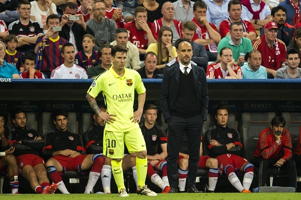 Guardiola: Only Lionel Messi Doesn't Have to Do What I Say