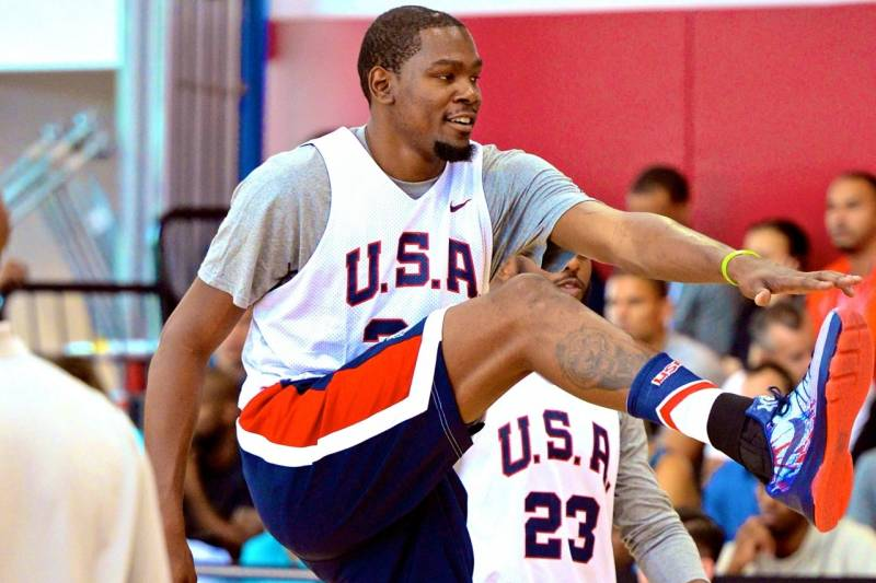 26885f7d188 Kevin Durant Reveals Unknown Bone Break in Foot