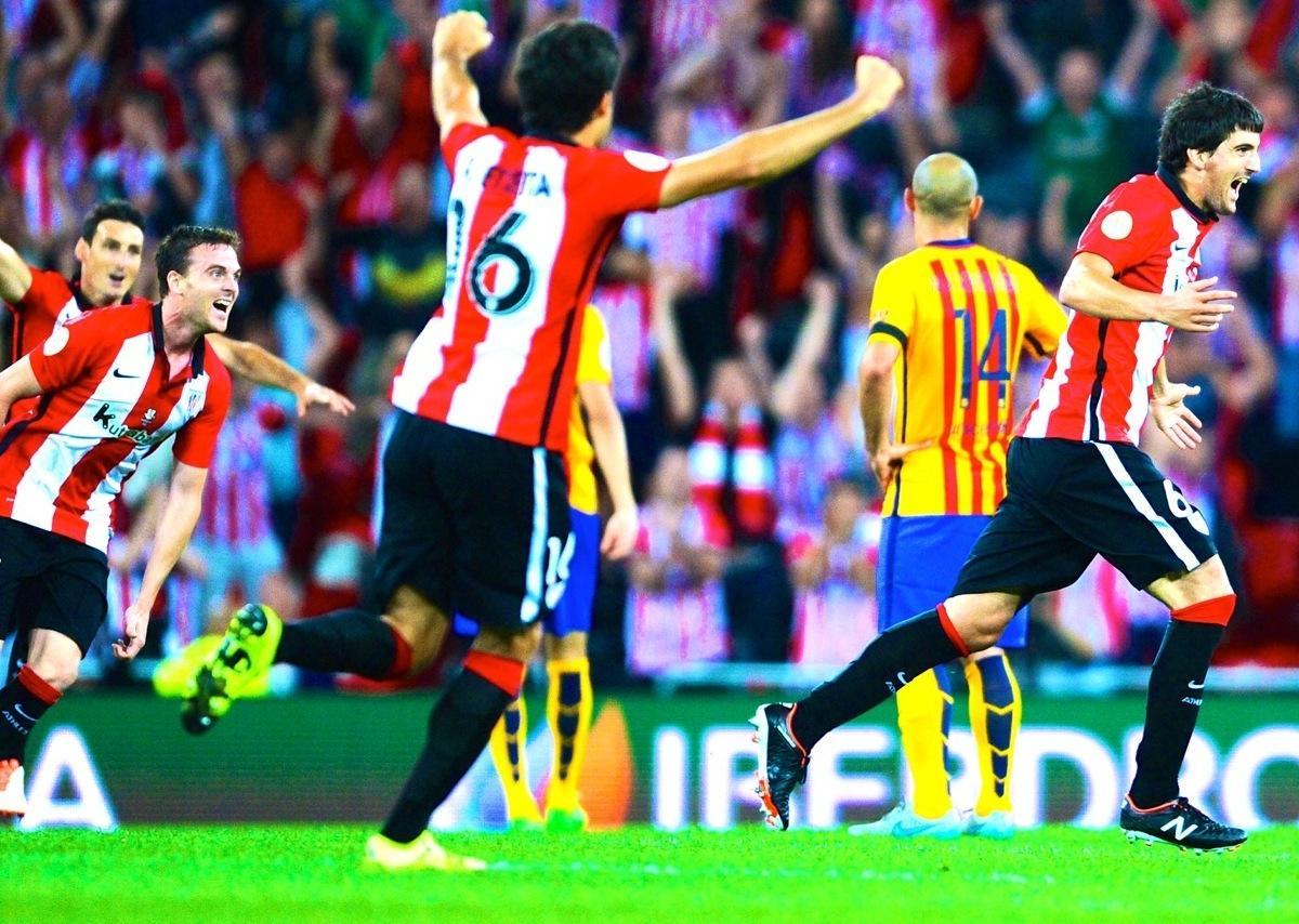 Athletic Bilbao vs. Barcelona: Score, Reaction from 2015 ...