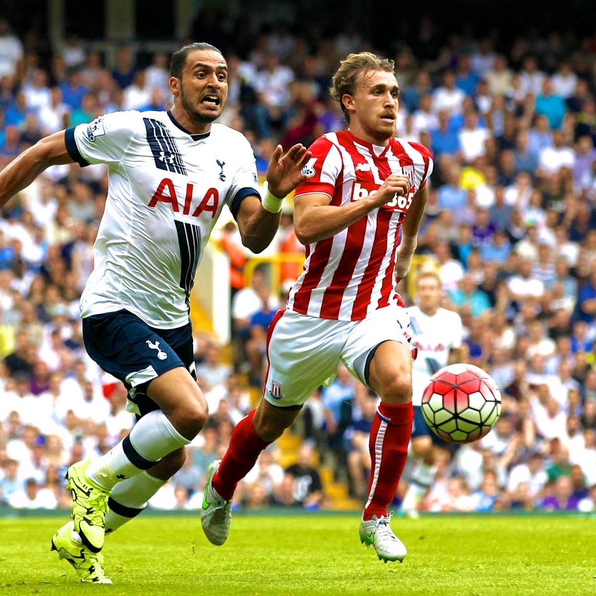 Tottenham Vs Huddersfield Live: Tottenham Vs. Stoke City: Live Score, Highlights From