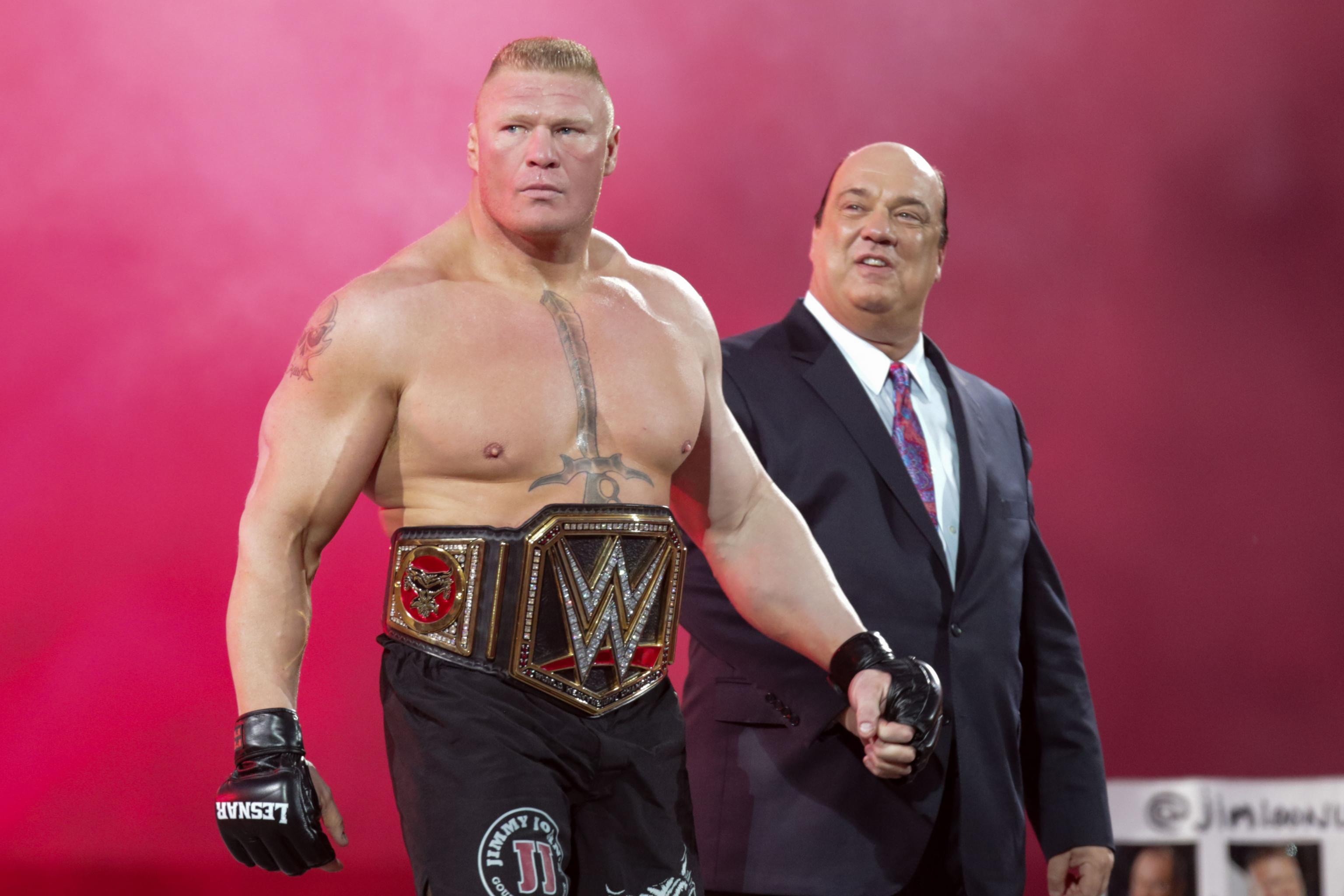 Brock Lesnar Discusses Vince Mcmahon Dana White S Comments ...