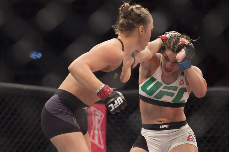 Bethe Correia Says She Wants a Rematch with Ronda Rousey