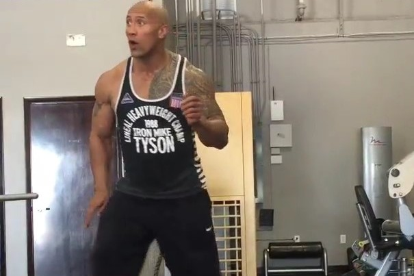 Dwayne The Rock Johnson Shows Off Slick Dance Moves In The