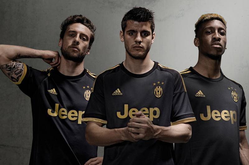bf188c108 Juventus Unveil New Adidas 3rd Kit for 2015 16 Season