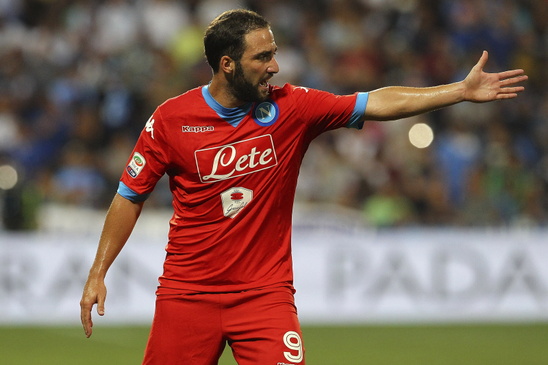 Arsenal Transfer News: Latest on Gonzalo Higuain, Andriy Yarmolenko Rumours
