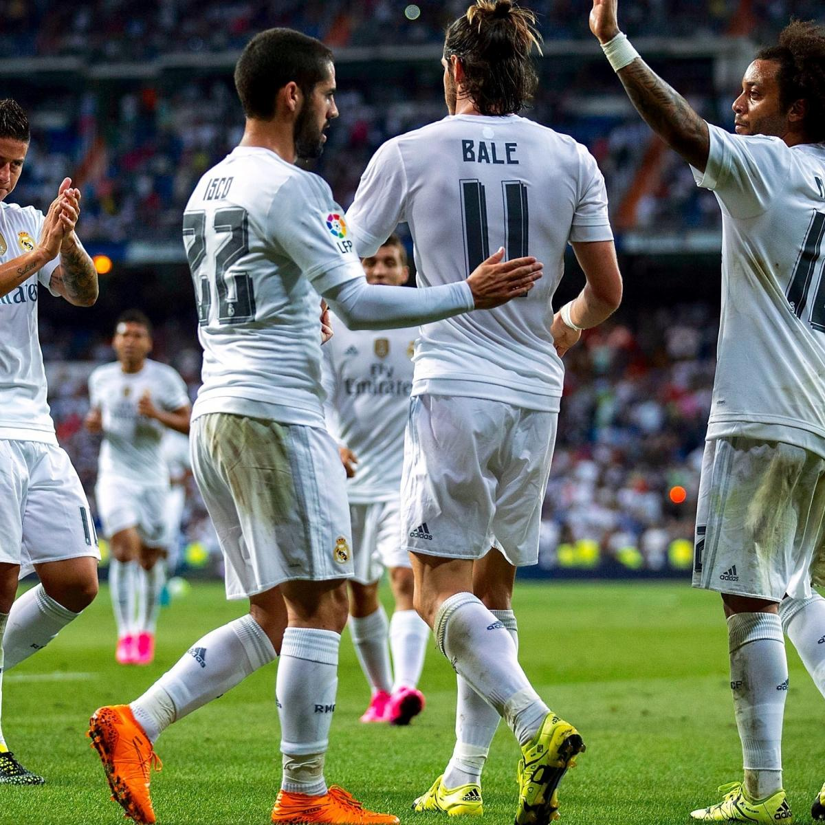 Real Madrid vs. Real Betis: Score and Reaction from 2015 ...